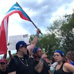 Protesters rally at White House to show solidarity with Puerto Rico: 'We might not live there now, but it's home'