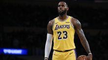 LeBron James Chooses Throwback-Inspired Kicks for His Los Angeles Lakers Debut
