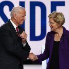 Democratic Candidates Turn Fire On New Front-Runner Elizabeth Warren