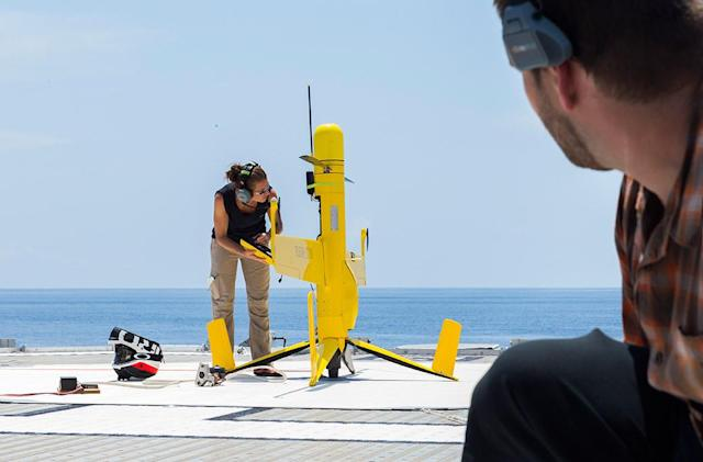Drone can stay in the air for two days to spot fish poachers