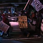 Protests in Rochester after officers not charged