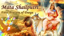 First Day of Navratri - Worshiping Goddess Shailputri