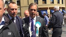 Charity worker sacked after tweet claiming she'd 'prefer' Nigel Farage was attacked with 'acid'