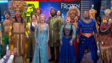 'GMA' celebrates 20 years in Times Square with music mash-up