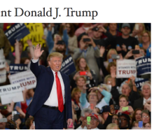 White House website hails and hails and hails the chief