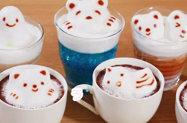 Craft the latte foam kitty of your dreams with this insane 'gun'