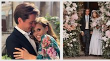 Princess Beatrice and Edoardo Mapelli Mozzi Tied the Knot with a Small Ceremony in Windsor