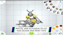 Mattel to launch 3D printing toy initiative