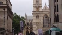 Anti-Austerity Protesters March During Queen's Speech in London