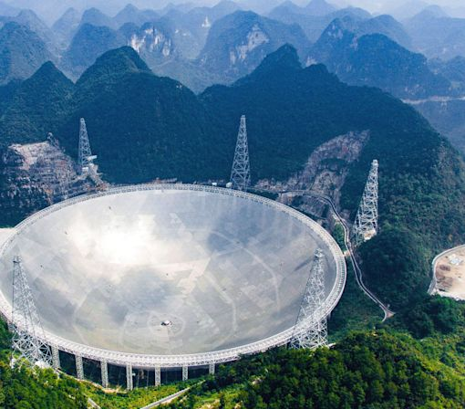 China Builds The World's Largest Radio Telescope
