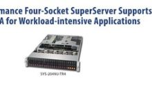 Supermicro High-Performance 4-Way MP SuperServer Now Available as Intel® Select Solution for SAP HANA