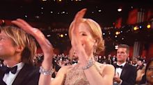 Oscars 2017: Nicole Kidman's crazy 'boomerang' clapping goes viral