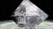 1st Satellite Built to Harpoon Space Junk for Disposal Begins Test Flight