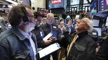 Levi's soars on return to stock market