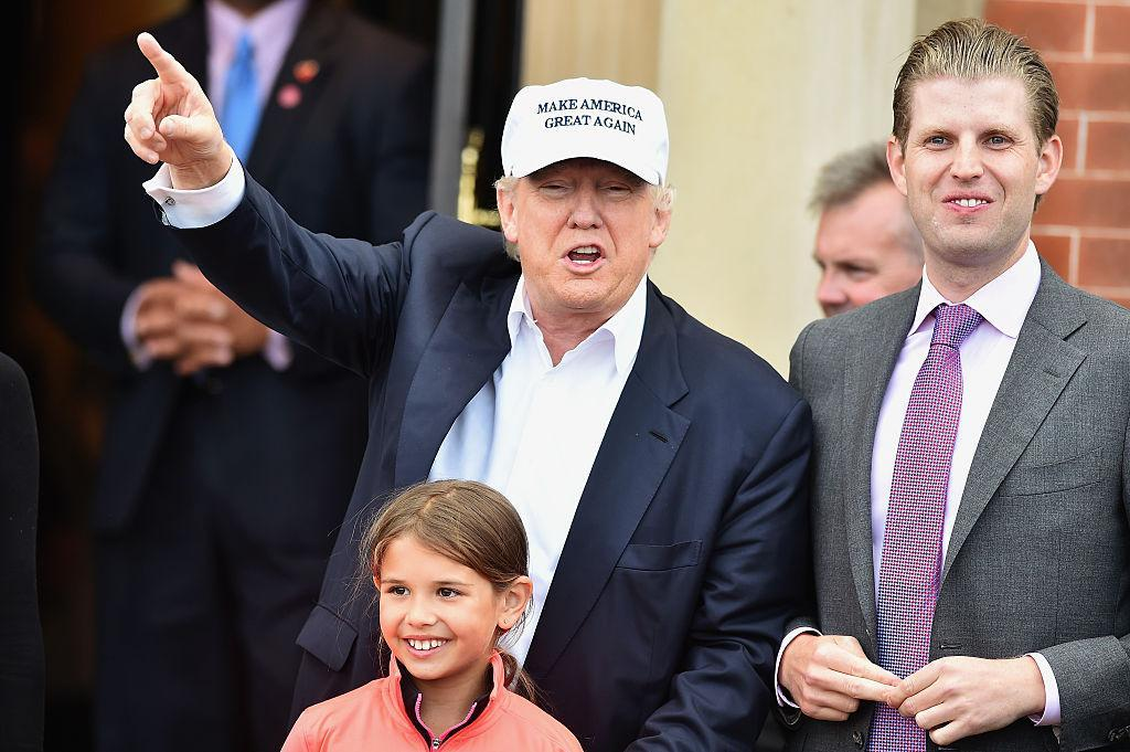Eric Trump 'said we have all the funding we need out of Russia', golf writer claims