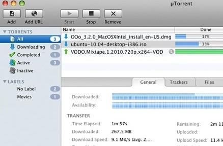 uTorrent goes 1.0 for Mac OS X