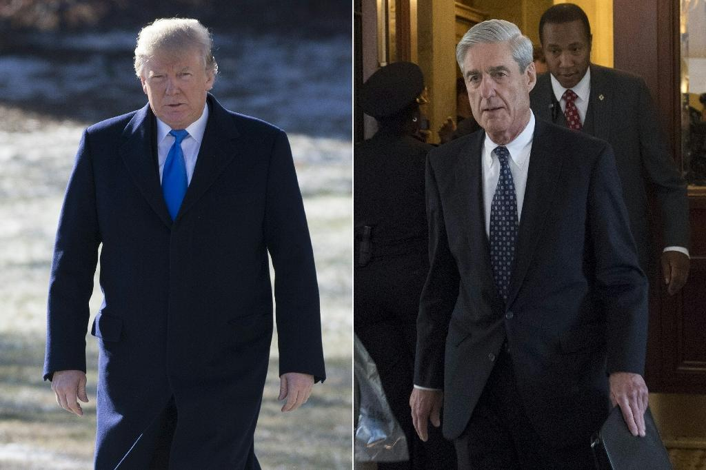 "President Donald Trump dismissed the Russia collusion probe by Special Counsel Robert Mueller as ""nonsense"""