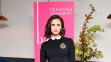 Nina Dobrev wants to rewear her bridesmaids dress from Julianne Hough's wedding