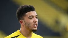 Dortmund's Sancho back in training before City clash