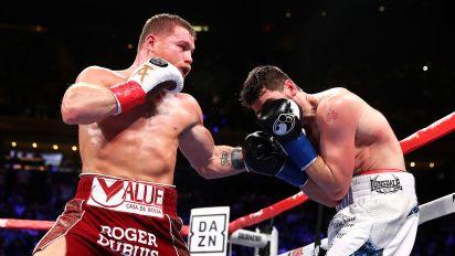 Canelo Alvarez destroys rival to join boxing greats