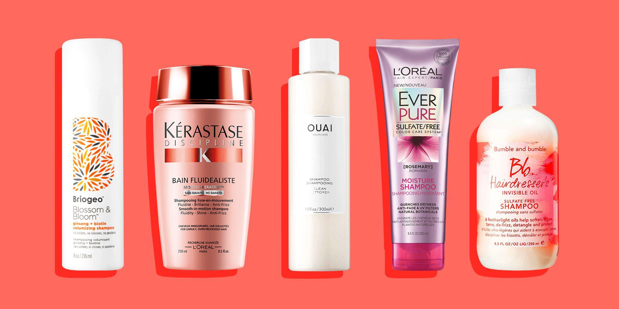 10 Sulfate-Free Shampoos That Go Gentle On Strands