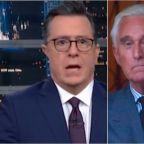 Stephen Colbert Reveals The Added Bonus Of Roger Stone's Prison Sentence