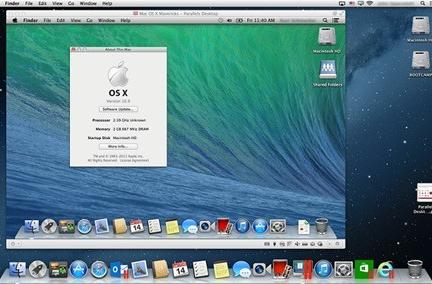 Dev Juice: Parallels Desktop 8 update makes OS X Mavericks VMs, hosts possible