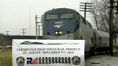 Vermont's High Speed Rail Project Kicks Off