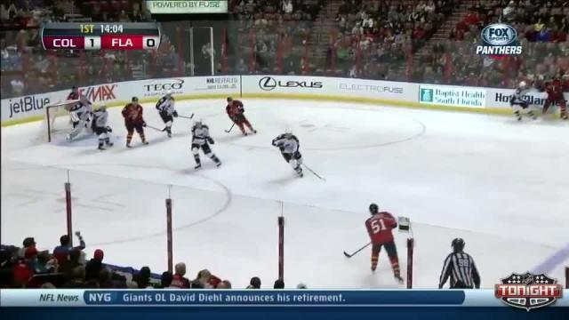 Colorado Avalanche at Florida Panthers - 01/24/2014