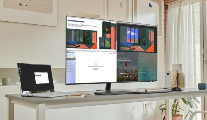 Samsung unveils a 43-inch 4K version of its versatile Smart Monitor