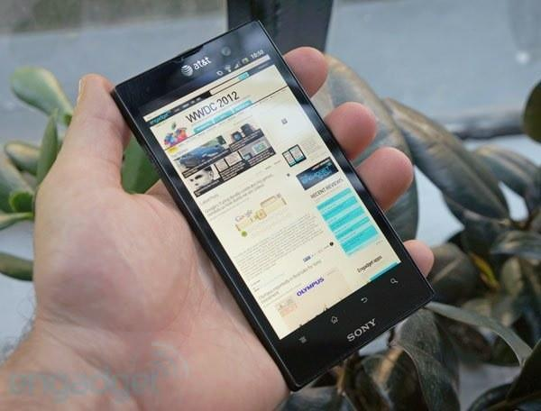 Sony Xperia Ion review: an Android handset with a split personality