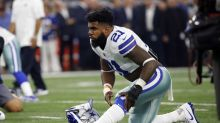Ezekiel Elliott apologizes for lack of effort: 'I was frustrated'