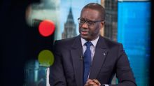 Credit Suisse's Thiam Warns Volatility Is a Double-Edged Sword