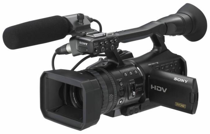 Sony's new HVR-V1U HDV cam does 24p