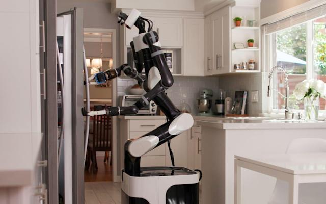 Toyota is using VR to train robots as in-home helpers