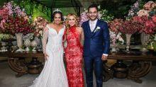 Filha mais velha de Joelma se casa com festa para 300 convidados em São Paulo