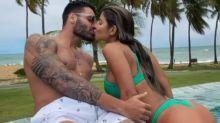 """Hariany anuncia término de namoro com Netto: """"Lembrarei com carinho"""""""