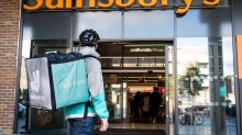 Sainsbury's teams up with Deliveroo to offer hot takeaways, sweets and dips