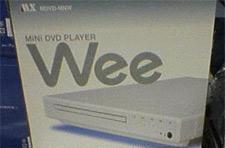 Play DVDs in your Wii and MiniDVDs in your Wee