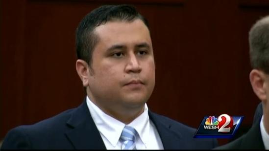 Raw video: George Zimmerman accepts jury