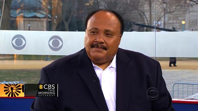 Martin Luther King III talks his father's legacy