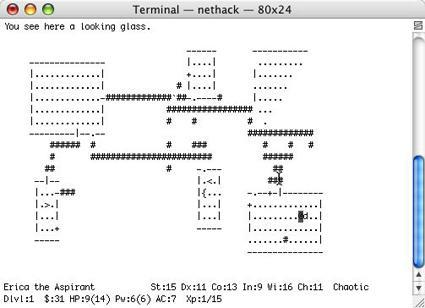Nethack: The Best Game on your Mac