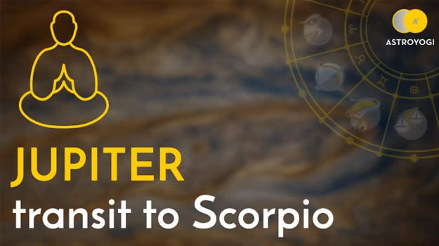Jupiter Transit in Scorpio