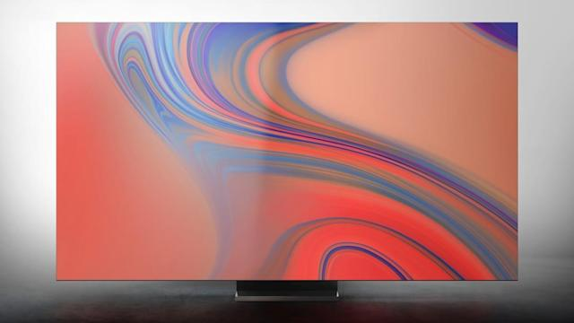 Samsung unveils an extra-large 8K TV for 2020