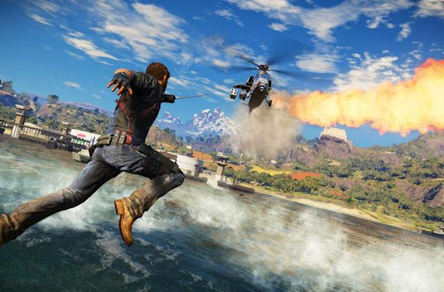 'Just Cause 3' let me create my own ballet of destruction