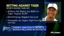 Tiger's win costs sports books millions in payouts