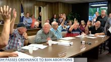 All-Male City Council In Texas Town Votes To Ban Abortions
