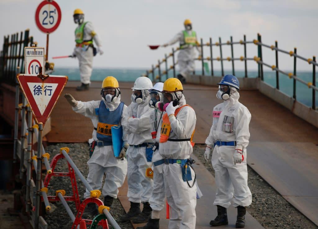 The meltdown was the worst nuclear disaster since Fukushima (AFP Photo/TORU HANAI)