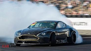 全球「最貴」甩尾車!Aston Martin「紳士」變「鬥士」Drift Racer式樣