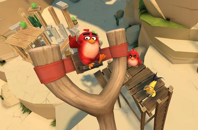 Build (and destroy) your own levels in 'Angry Birds VR'